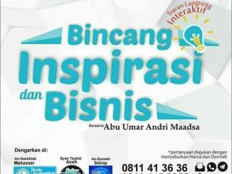Bincang Inspirasi dan Bisnis