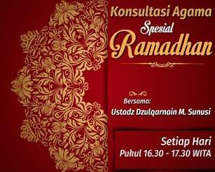 Konsultasi Agama Spesial Ramadhan