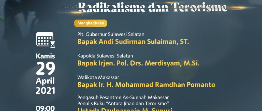 Sakinah Indonesiaku, Ramadhan Momentum Membentengi Diri Dari Radikalisme Dan Terorisme